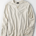 American Eagle Outfitters: 30% Off AEO Long Sleeve Flex Henley