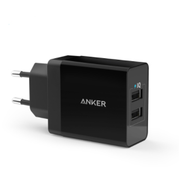 Ebay-Anker: Anker 24W 2-Port US Plug USB Wall Charger