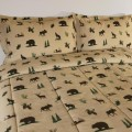 Cabin Place: Bear Mountain Friends Comforter Sets Starting At $69.95