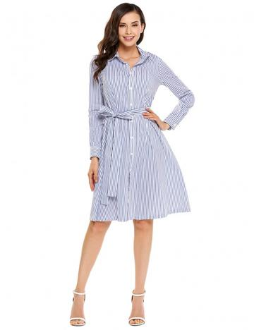 Loras Style: Long Shirt Dress Just Sale $45.64