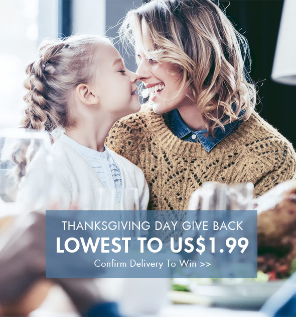 Newchic: Thanksgiving Day Give Back Lowest To $1.99