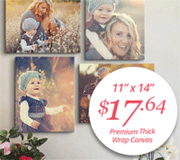Canvas On Demand: 82% Off 11x14 Canvas