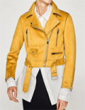 Whatsmode: 30% Off Chammy Short Biker Jacket