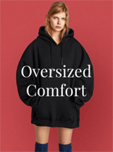 Whatsmode: 50% Off Oversized Comfort