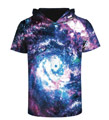 Noracora: Hot Sale Men/women 3d T-shirt Print Nebula Swirl Tops Tees Shirts