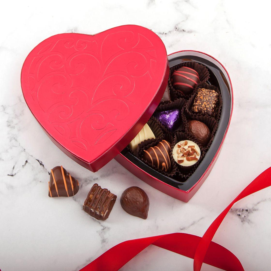 Purdys: Milk & Dark Chocolate Heartfelt Box Just $21