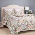 Bedsure Designs: 77% Off Printed Quilt Set And Sham