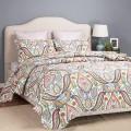 Bedsure Designs: 77% Off Printed Quilt Set And Sham