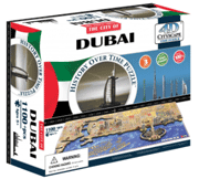 Puzzle Master: 4D City Scape Time Puzzle - Dubai For $46.75