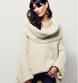 Wealfeel: Making My Way Big Lapel Loose Sweater Just $32.99