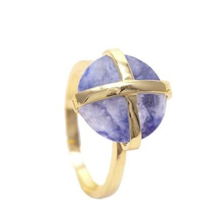 Sacred Jewels: Sodalite Luck Collection Ring Just $69