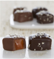 Fannie May: Milk And Dark Chocolate Sea Salt Caramels Platinum Wrap