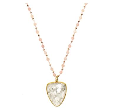 Sacred Jewels: Gemstone Pendant Necklaces Just $98