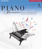 Sheet Music Plus: Piano Adventures Level 2A - Lesson Book For $7.99