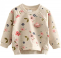 Patpat: 30% Off Stylish Floral Sweatshirt For Toddler Girl And Girl