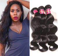 Unice: Hair Products Brazilian Body Wave Virgin Hair 4 Bundles For $70