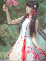 Umecat: チャイナードレス風lolitaドレス 11250円