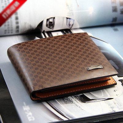Toolforvip: 10% Off Men's PU Leather Wallet