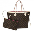 Topposhbags: Save 15% On  Louis Vuitton Monogram Canvas Neverfull Mm Pivoine