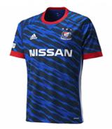 Jerseysbuzz: 17-18 Yokohama F Marinos Home Bule Soccer Jersey Shirt For $14.99