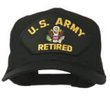E4Hats: US Army Retired Military Patched Cap For $19.49