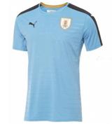 Jerseysbuzz: 2016 Uruguay Home Soccer Jersey Kit For $24.99