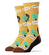 The Joy Of Socks: Bob Ross Happy Tree Sport Socks  For $12