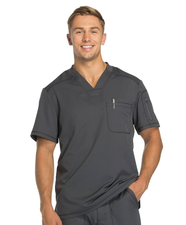 Lydia's Uniforms: Dickies Dynamix Mens 1-Pocket V-Neck Scrub Top Just $30.98