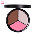 BeautyBigbang: 55% Off Bronzer Blush Highlighter Palette For Face Makeup
