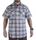 Vertx: Guardian Shirt Steel Plaid For $64.95