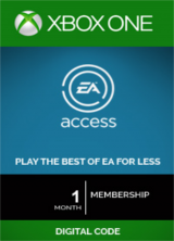 Gvgmall: 59% Off EA Access 1 Month Xbox One CD-Key