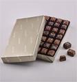 Fannie May: Milk And Dark Chocolate Sea Salt Caramels Platinum Wrap