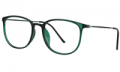 Zeelool: Green Dulcie Rectangle Glasses For $18.95