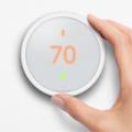 MassGenie: Nest Thermostat E White Programmable For $117.99