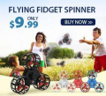Zbest: FLYING FIDGET SPINNER For $9.99