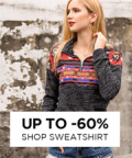 Chicgal: 60% Off Hoodies & Sweatshirts