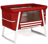 Modern Nursery: $104 Off BabyHome Air Bassinet Red Floor Model