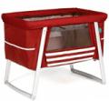 Modern Nursery: $104 Off BabyHome Air Bassinet Red Floor Model