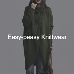 Miss Arty: 50% Off Easy-peasy Knittwear