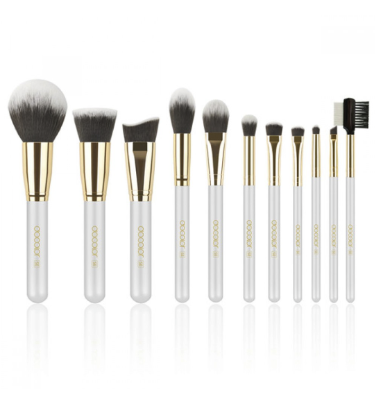 DOCOLOR: 30% Off On 3 Pieces Makeup Brush Set - DB-CUPID
