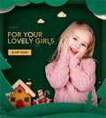 Patpat: 35% Off Lovely Girls' Clothing