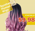 Chellysun: Wigs & Hair From $9.98