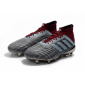 Minejerseys: AD Paul Pogba Predator 18+ FG-Gray&Red Just $59.99