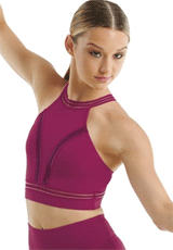 Dancewear Solutions: 26% Off FlexTek Smooth Halterneck Crop