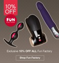 Lovehoney: 10% Off Fun Factory