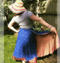 Darn Good Yarn: Buy 2 Sari Silk Wrap Skirts And Get 3 FREE