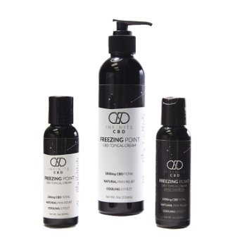 Infinite CBD: Freezing Point Cream From $17.5