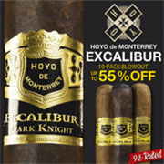 Cigar Page: 55% Off Super Charged Excalibur Lineup