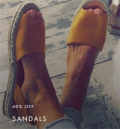 Mostata: 40% Off Sandals