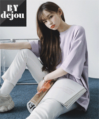 DEJOU: Basic Oversized T-Shirt For $10.7